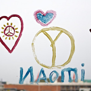 Vredesweek kindertekeningen..