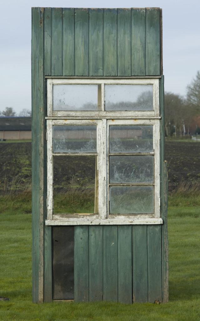 Teile einer ehemaligen Baracke in Kamp Westerbork